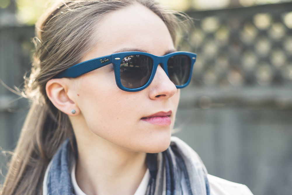 Негативная зрительная привычка носить солнцезащитные очки без прямой необходимости